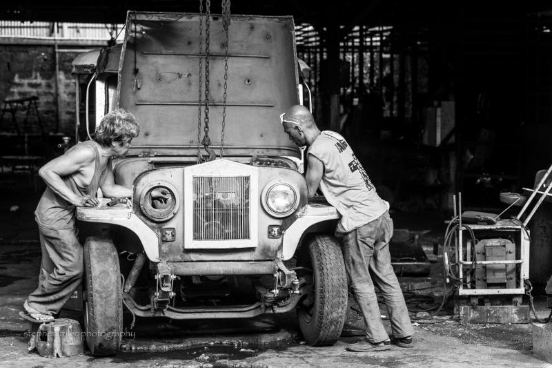 Sarao Jeepney Factory: Interiors